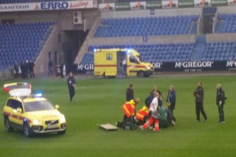 BORI SE ZA ŽIVOT: Fudbaler kolabirao tokom utakmice