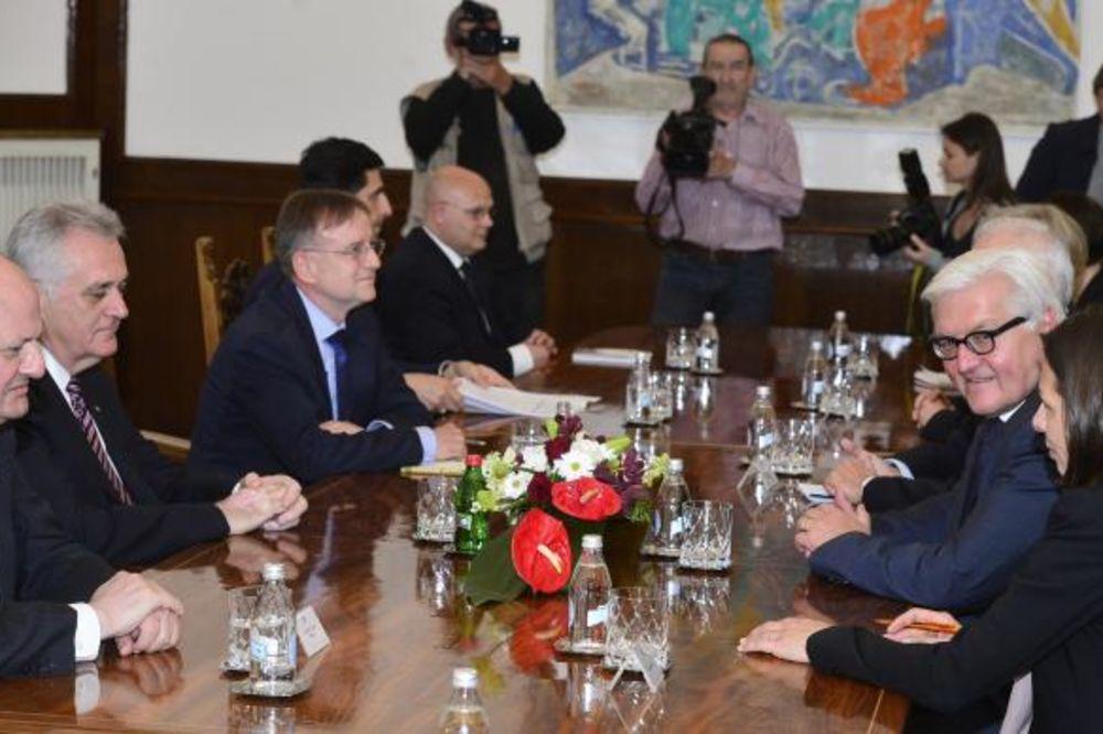 Nikolić se sastao sa Štajnmajerom