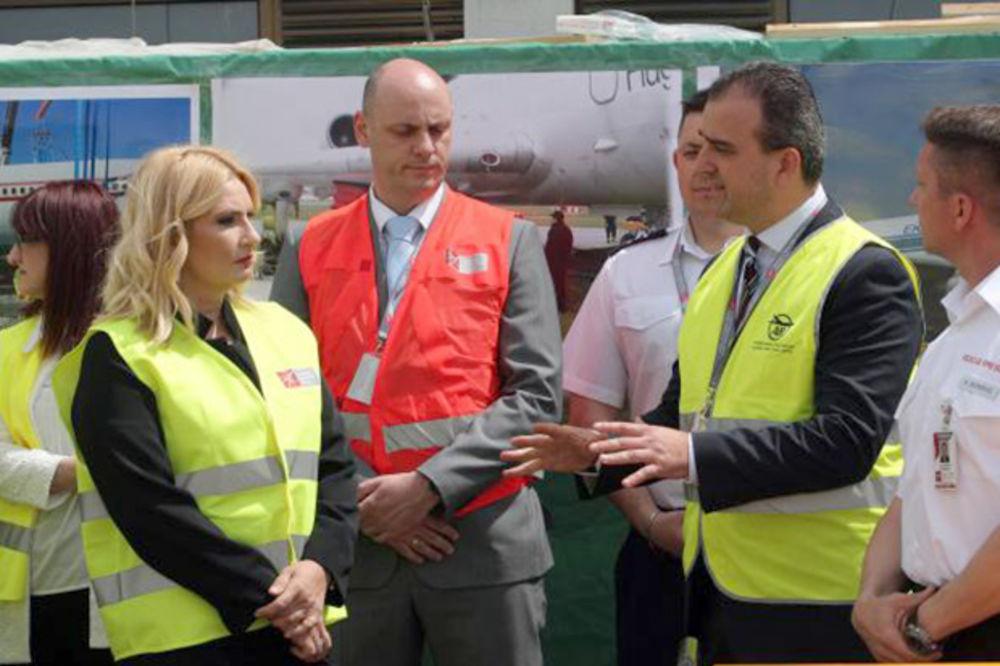 Mihajlovićeva: BG aerodrom ima najveći potencijal u Evropi