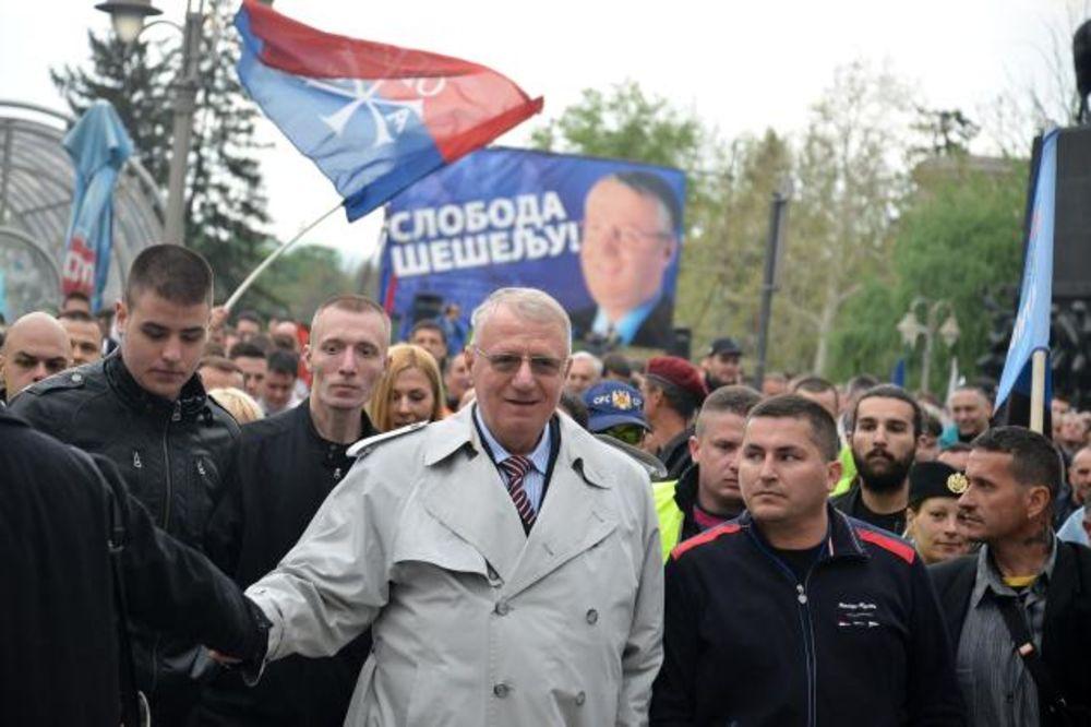 ŠEŠELJ: Ne vraćam se u Hag, želim da budem premijer Srbije!
