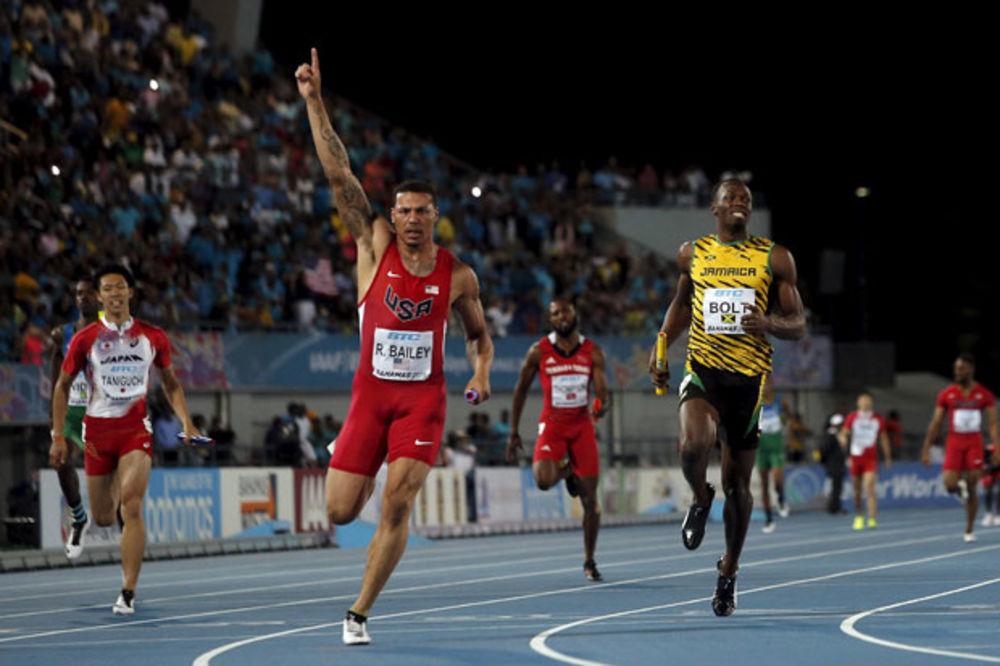 (VIDEO) NEĆETE VEROVATI, ALI ISTINA JE: Bolt izgubio trku, Amerikancima zlato u štafeti