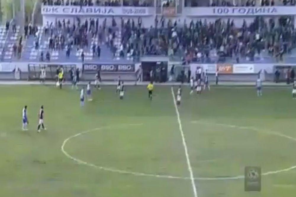 (VIDEO) TUČA NAVIJAČA U SARAJEVU: Evo zašto je prekinuta utakmica u Lukavici