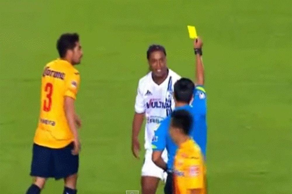 (VIDEO) FOLIRANT I LOŠ GLUMAC: Pogledajte bruku nekada najboljeg fudbalera sveta