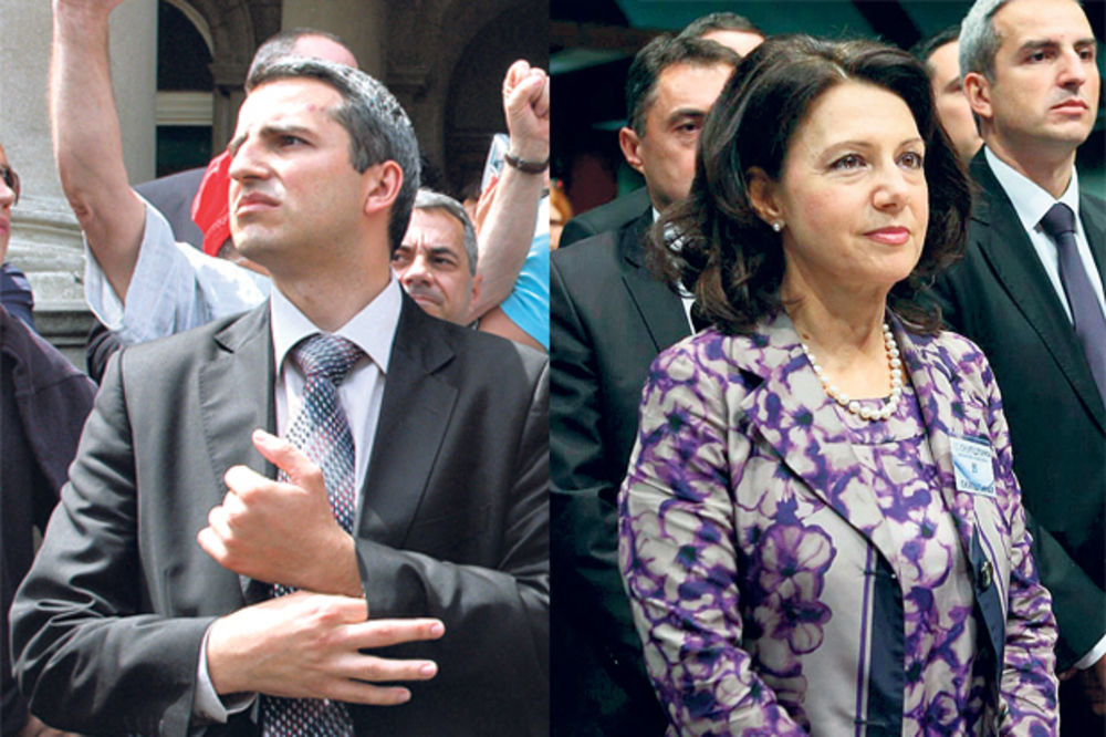 SMENJEN ANDREJA MLADENOVIĆ: Sanda uvodi diktaturu u DSS