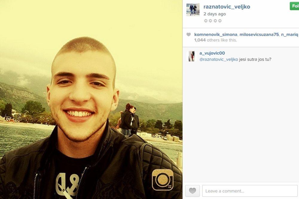 Veljko Ražnatović, foto: Printskrin/Instagram
