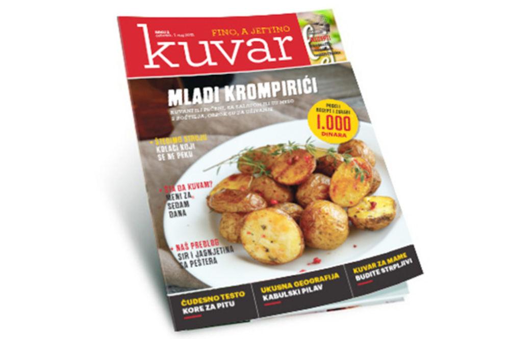 Novi poklon magazin Kuvar  za sve ljubitelje kulinarstava svakog četvrtka uz Kurir !