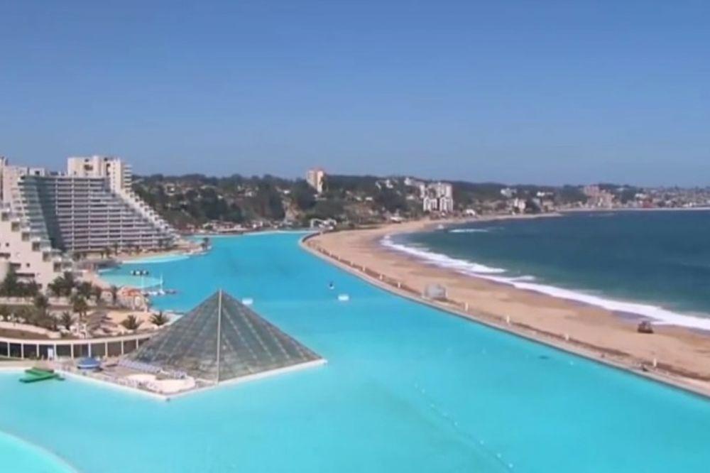 (VIDEO) RAJ NA ZEMLJI: Ovo je najveći bazen na svetu!