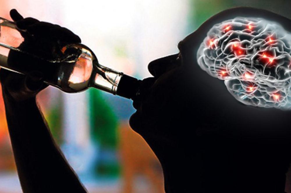 OVOGA NISTE NI SVESNI: Pogledajte šta kafa, alkohol i narkotici rade vašem mozgu