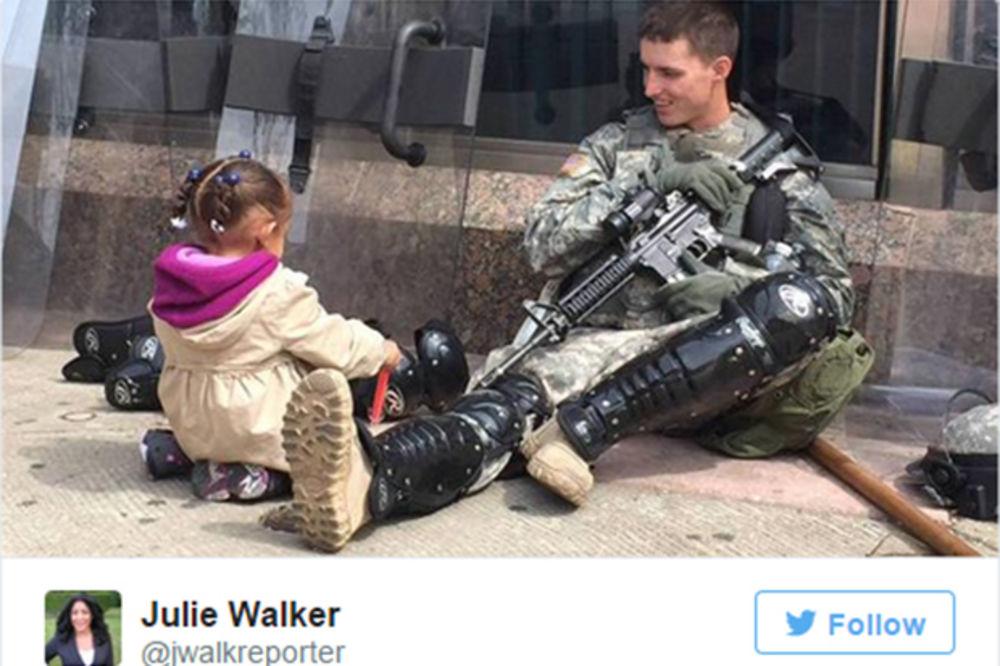 OVO NIJE IRAK ILI AVGANISTAN: Snimljeno usred Amerike, na ulicama Baltimora
