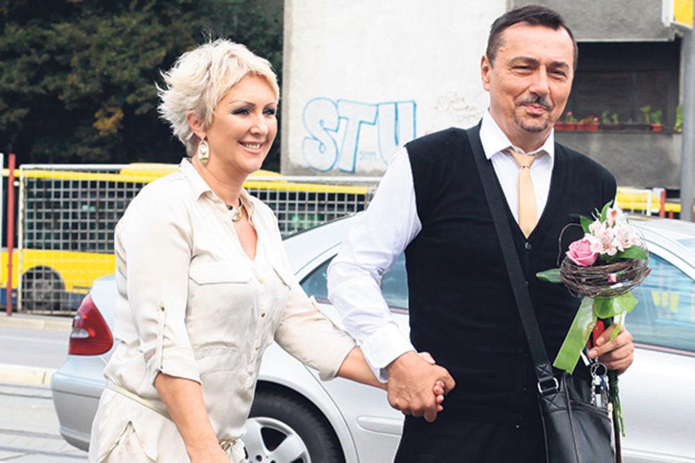 dragan kojic keba, sa suprugom oljom, svadba, slavlje, veselje, svadba godine, www.radio-xxl.com