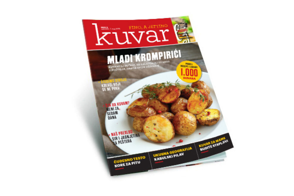 DANAS U KURIRU NAJBOLJI MAGAZIN O KULINARSTVU: Kuvar Fino, a jeftino, poklon za sve čitaoce!