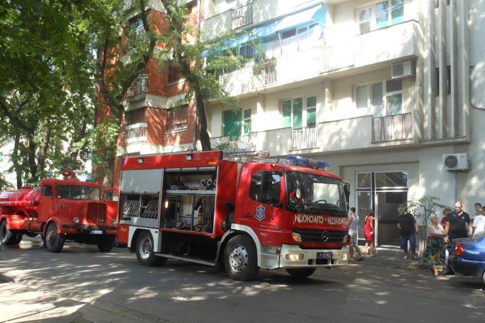 PLANULA TRAVA U SENTI: Vatrogasci došli da ugase požar, pa otkrili laboratori...