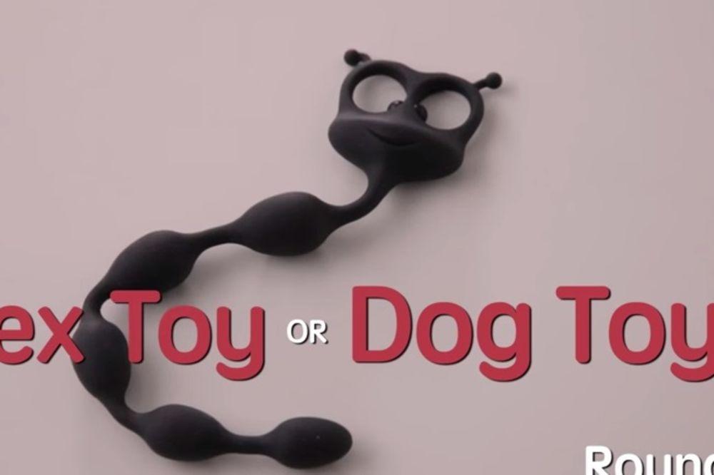 (VIDEO) ČIK POGODITE: Da li je ovo igračka za psa ili igračka za seks?