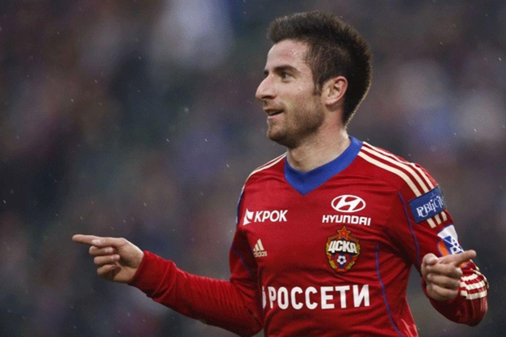 (VIDEO) BAMBI VODI ARMEJCE U LŠ: Tošić sa dva spektakularna gola doneo pobedu CSKA