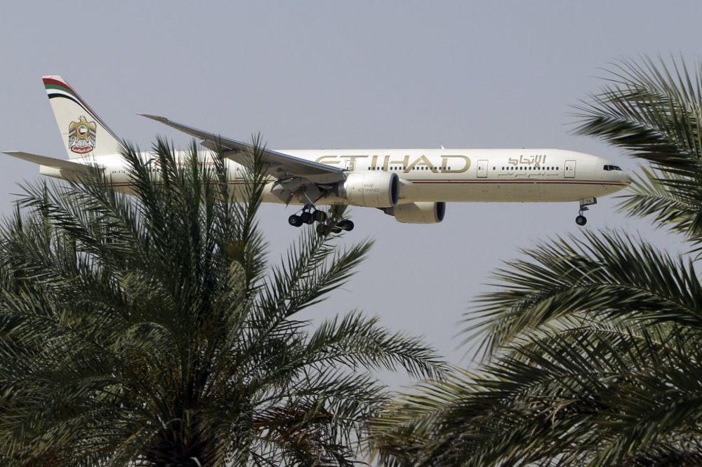 UZBUNA U ETIHAD ERVEJZU: Preusmeren avion zbog lažne uzbune