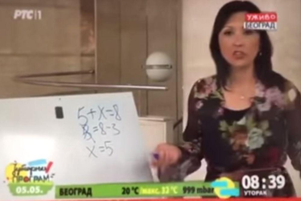 (VIDEO) KAKAV BLAM: Lapsus voditeljke RTS već nekoliko dana uveseljava Hrvate!