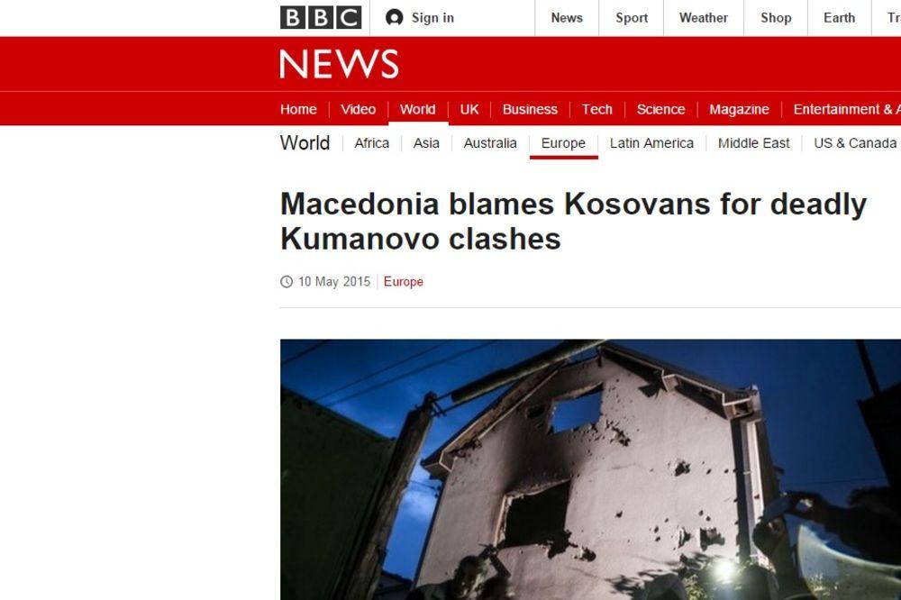 ŠARLI EBDO SU NAPALI TERORISTI, A MAKEDONIJU NAORUŽANA GRUPA: Evo koji aršin koriste svetski mediji!