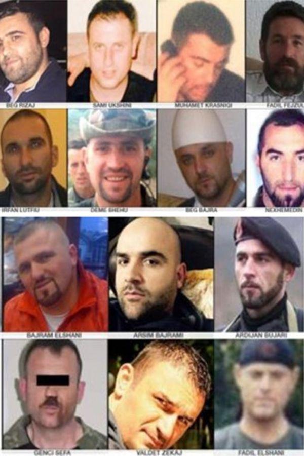 FOTO: 14 terorista koji su stigli sa terirtorije Kosmeta