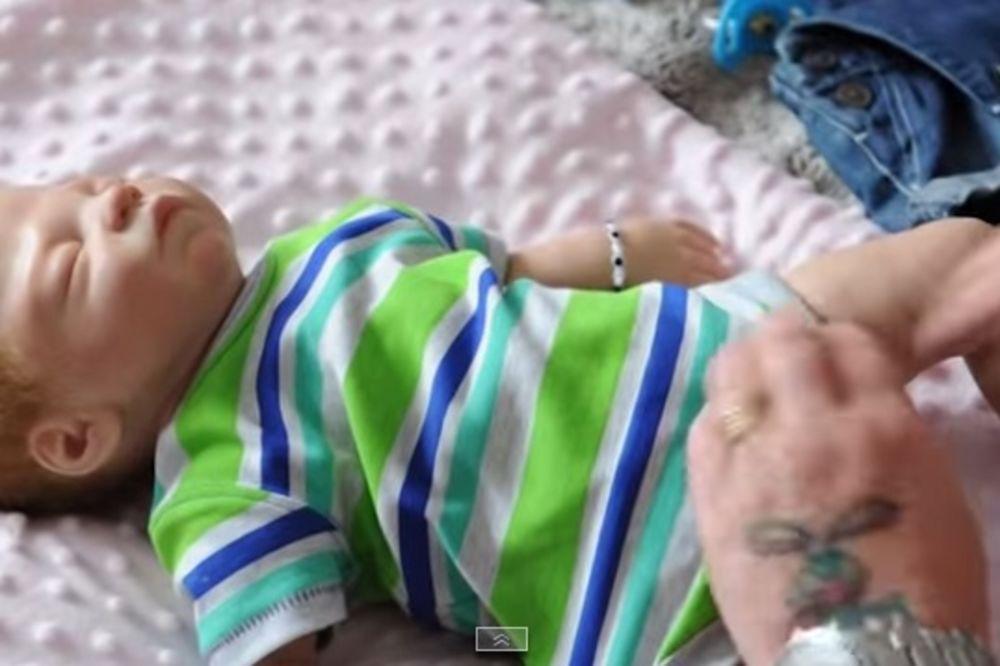 (VIDEO) DA SE NAJEŽIŠ: Zbog ove bebe njen muž je zatražio razvod