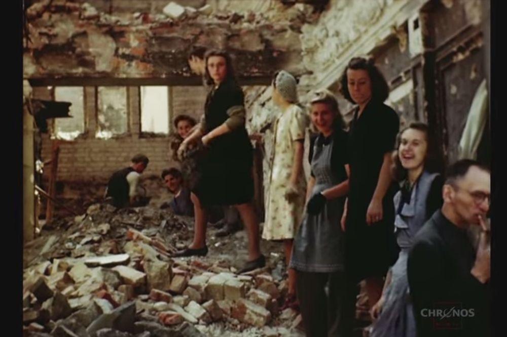 (VIDEO) DO SADA NEVIĐENI SNIMAK BERLINA IZ 1945. GODINE: Šokiraćete se istinom