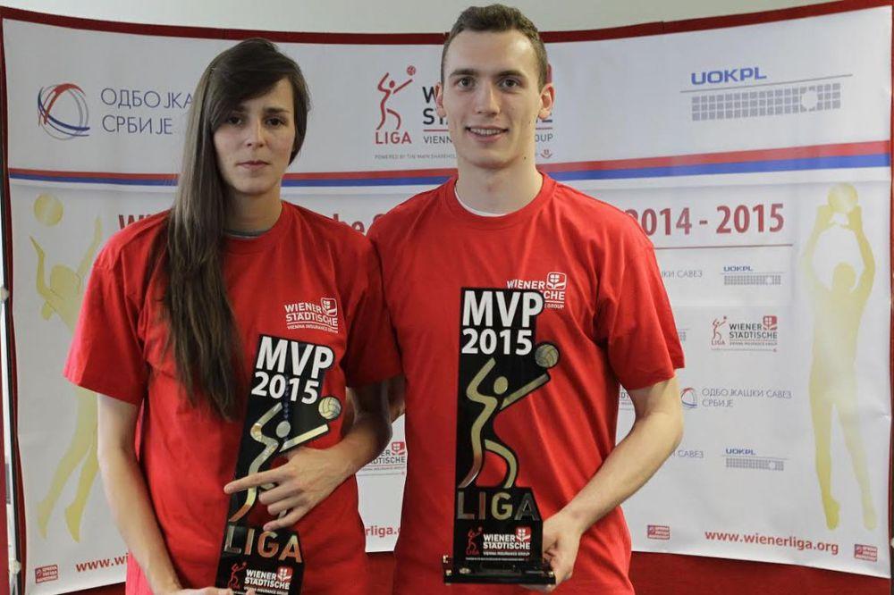 ODBOJKAŠI PROGLASILI NAJBOLJE: Drpa i Stoilović MVP lige