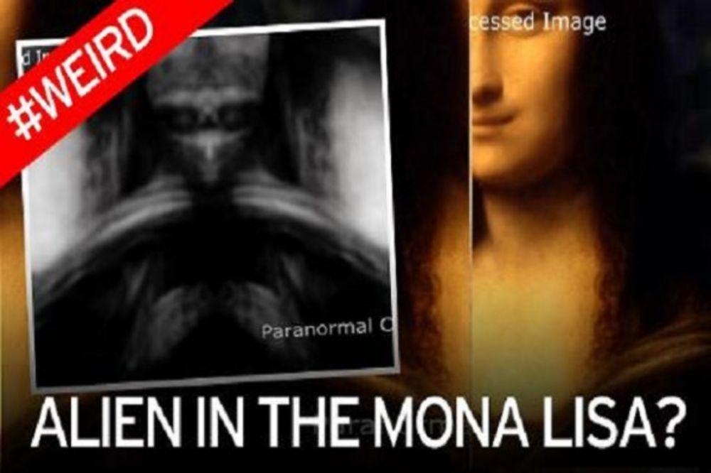 (VIDEO) ŠOKANTNO: Vanzemaljska figura uočena na slici Mona Lize