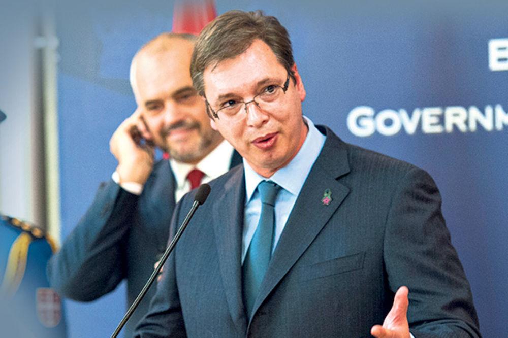 Vučić: Optimista sam pred posetu Albaniji