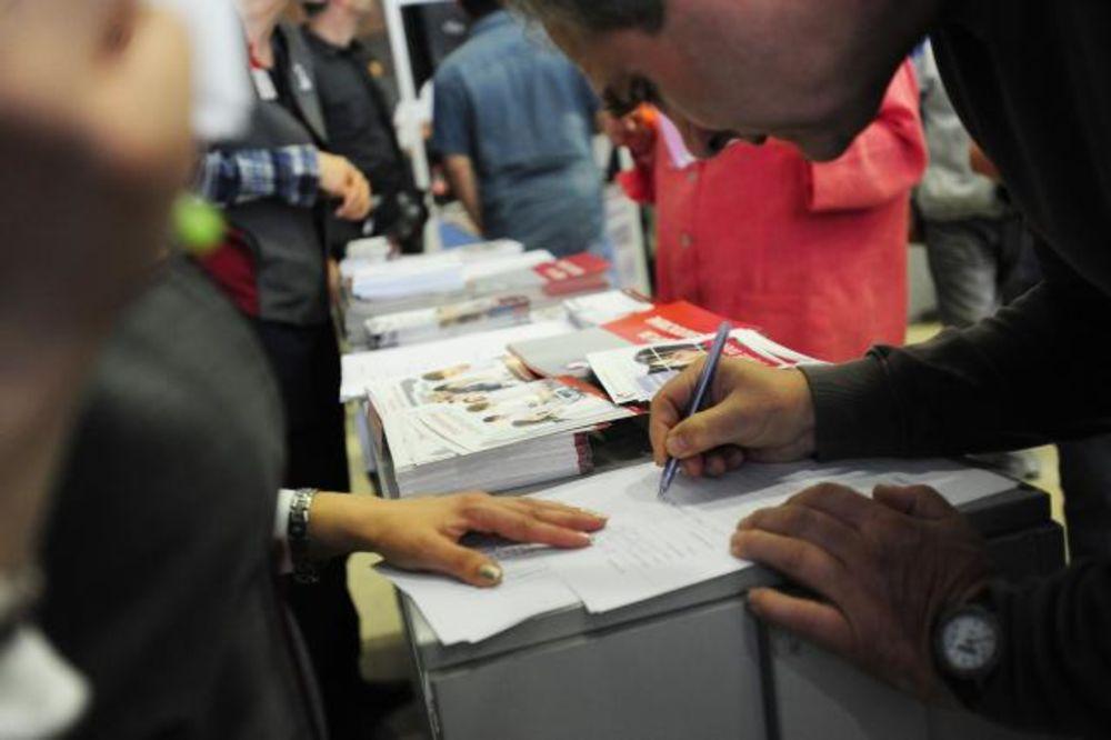 SAJAM ZAPOŠLJAVANJA U KG: Kandidata 10 puta više od radnih mesta