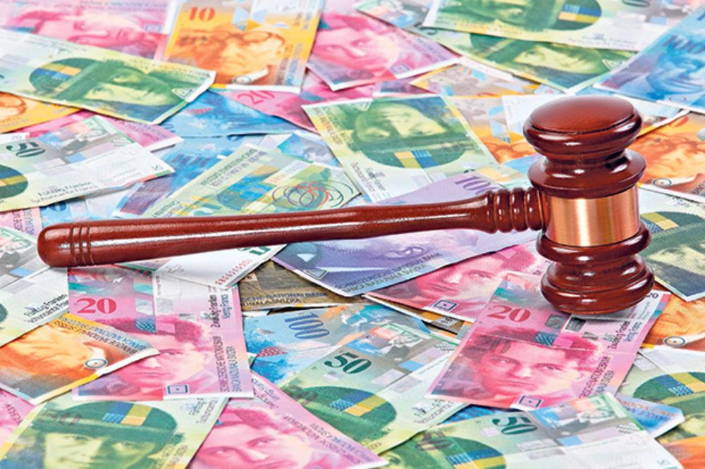 KREDITI U ŠVAJCARCIMA: Presude idu naruku i dužnima i bankama?!