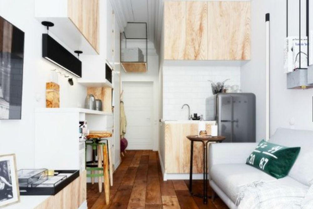 (FOTO) UREĐENJE MALOG STANA: Umeće življenja u 15 kvadrata - Kurir