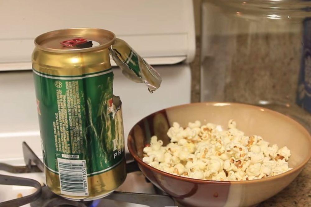 (VIDEO) FENOMENALAN IZUM: Pogledajte šta je napravio od konzerve pive!