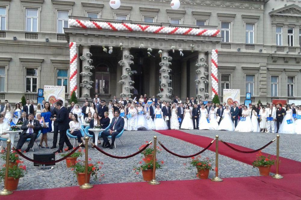 110 PAROVA: U Beogradu sutra kolektivno venčanje