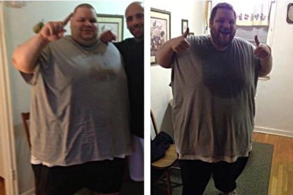 (VIDEO) REKLI SU MU DA ĆE ŽIVETI 2 GODINE: Imao je više od 300 kg, smršao je 180, a danas izgleda...