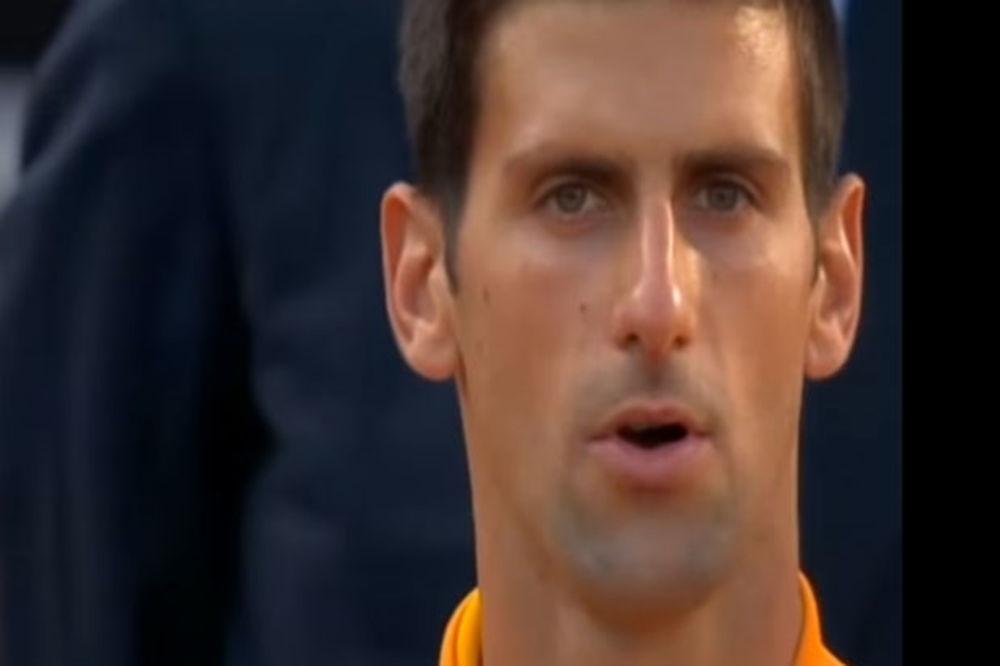 (VIDEO) SKANDAL U RIMU: Novaku pustili staru himnu Srbije!