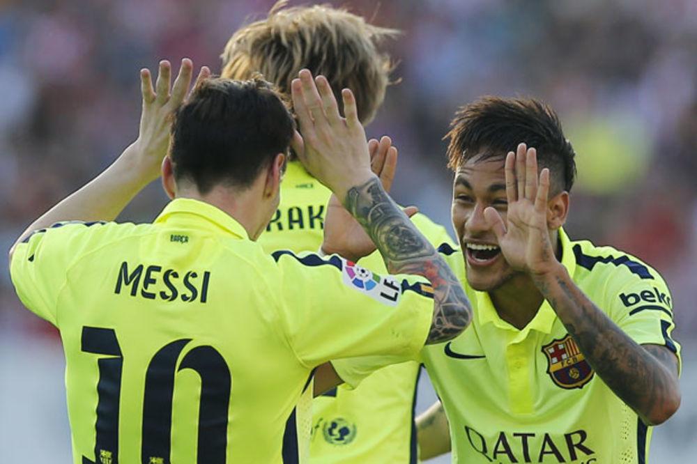 (VIDEO) KATALONCI SE RADOVALI U MADRIDU: Mesi doneo titulu Barseloni!