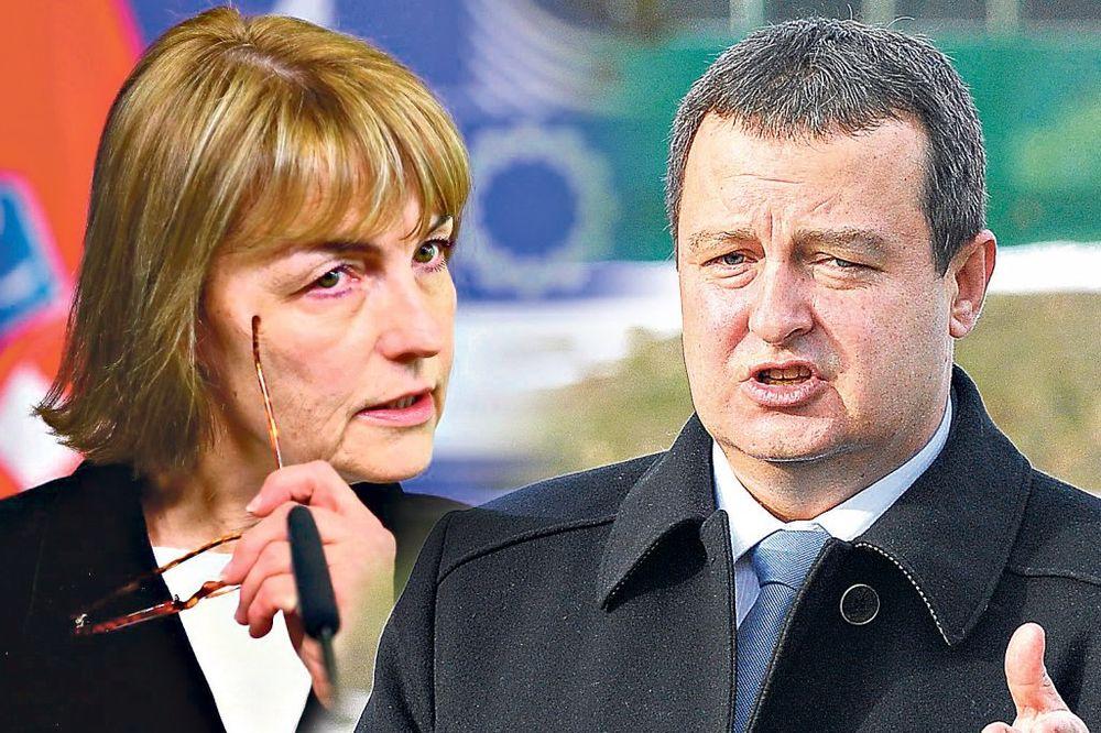 Pusićeva: Odgovaraćete zbog Draže; Dačić: Šta ćemo s vašim ustašama?