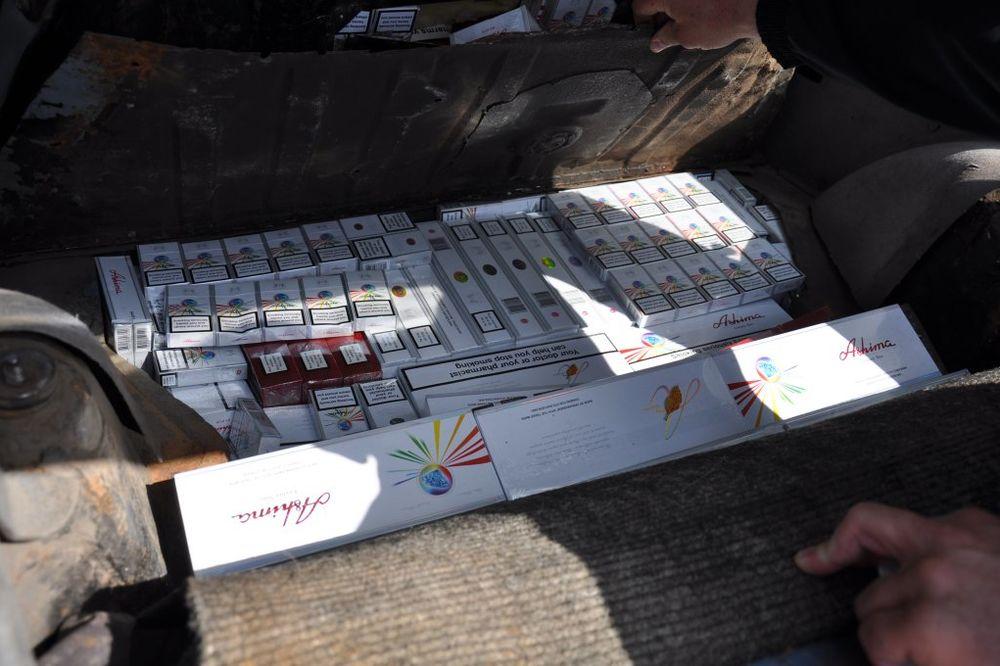 NOVI PAZAR: Zaplenjene cigarete vredne oko 400.000 dinara