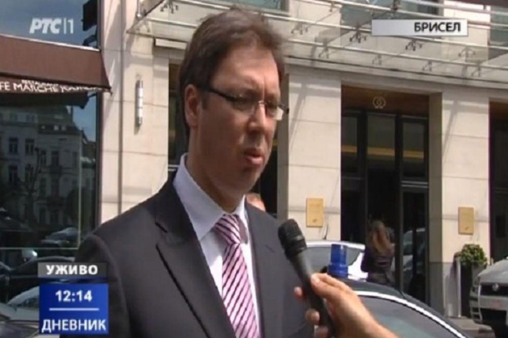 VUČIĆ SA PRIJATELJIMA SRBIJE: Danas je bilo lepo biti Srbin u Briselu