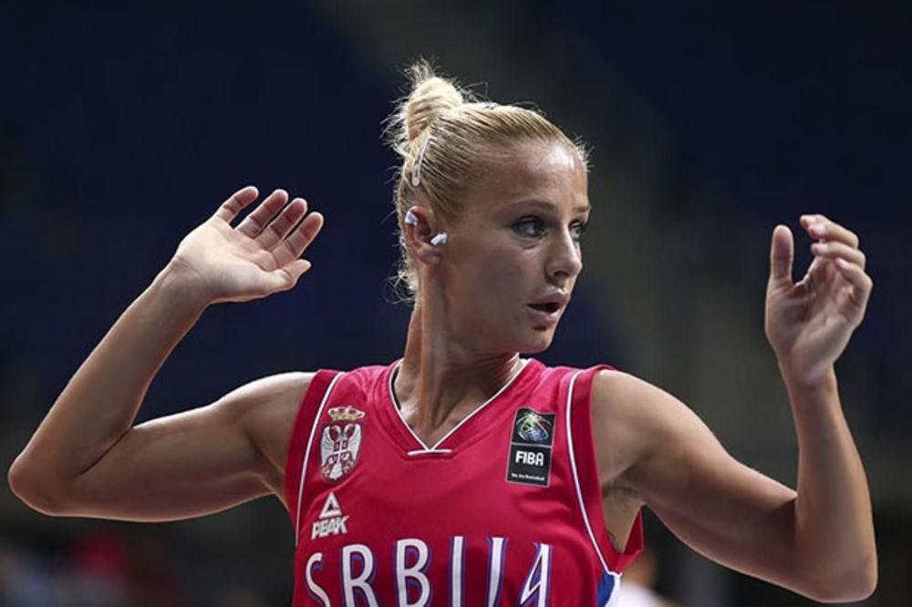 (VIDEO) KRALJICA: Milica Dabović objasnila kako je nogom skinula loptu sa obruča