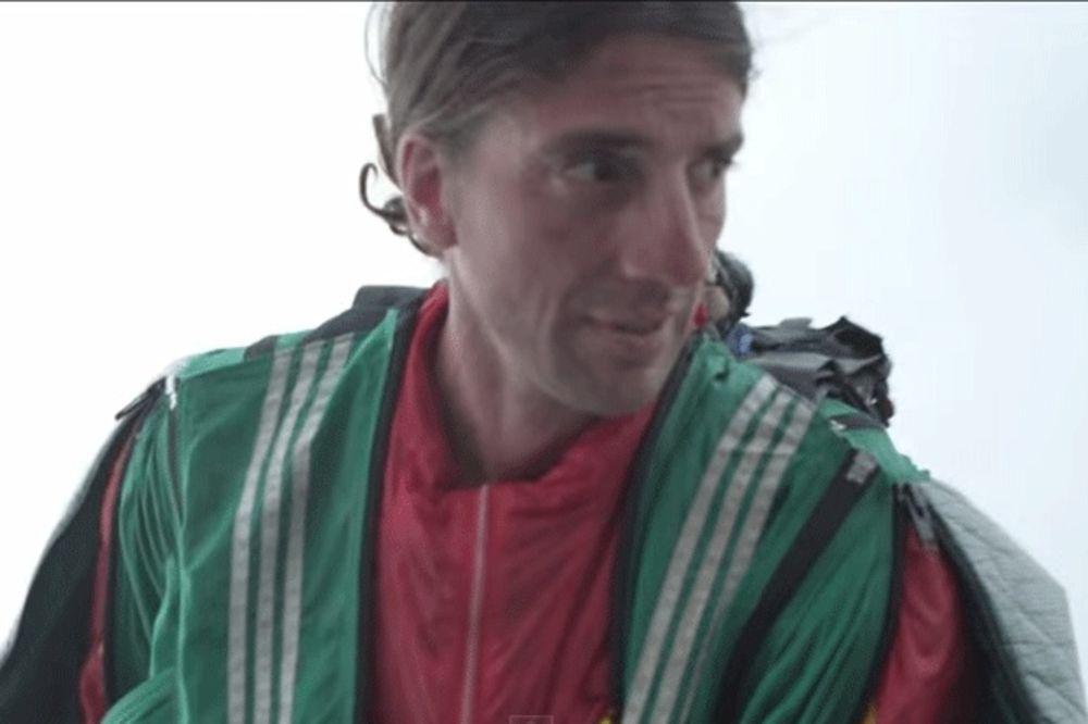 (VIDEO) POGINUO POZNATI EKSTREMNI SPORTISTA: Skočio sa 2.800 metara, a padobran mu se nije otvorio