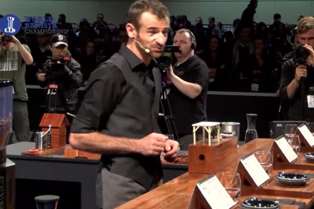 (VIDEO) BANJALUČANIN PRVAK SVETA: Kada probate njegovu kafu, neće želeti nijednu drugu