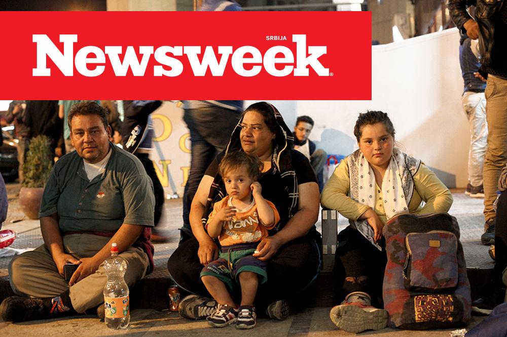 NOVI NEWSWEEK: PADNE KOJI ŠAMAR, ALI U SRBIJI IM JE DOBRO Ovo je život imigranata sa istoka!