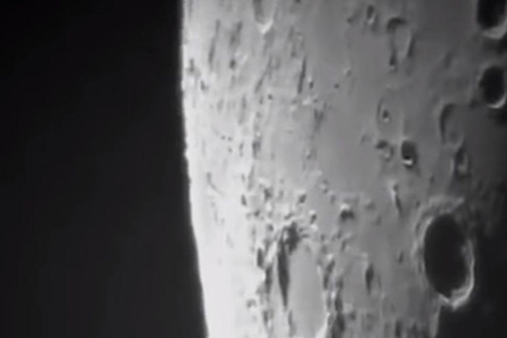 (VIDEO) ZAŠTO NASA ĆUTI: Analitičari tvrde da se na snimku nalazi NLO na Mesecu