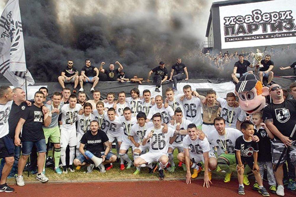 VISOK RIZIK: Partizan na leto može u Albaniju!