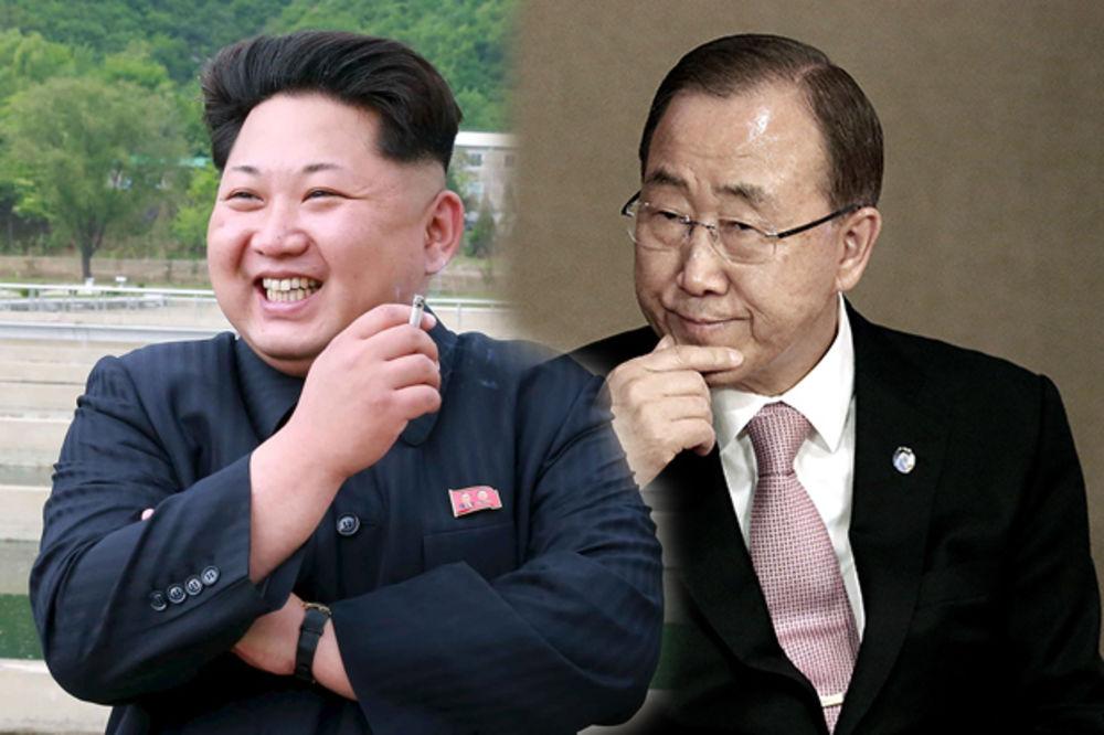 REKLI, PA POREKLI: Kim pozvao Ban Ki-muna u posetu, pa mu u poslednji čas otkazao