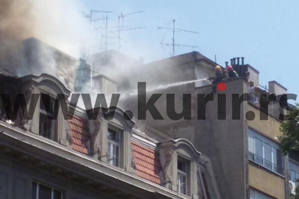 GORELA ZGRADA: U potpunosti ugašen požar u Kosovskoj