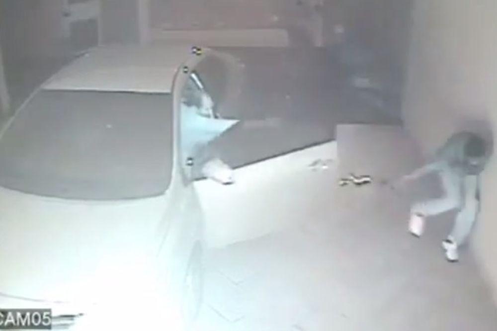 (VIDEO) ZASUO IH UŽARENIM OLOVOM: Pogledajte vatreni obračun policajca sa trojicom razbojnika!