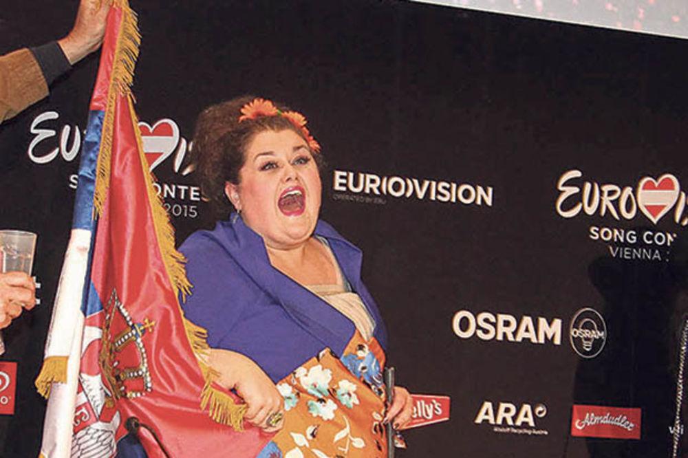 VELIKE ŠANSE ZA POBEDU: Bojana Stamenov u top šest favorita