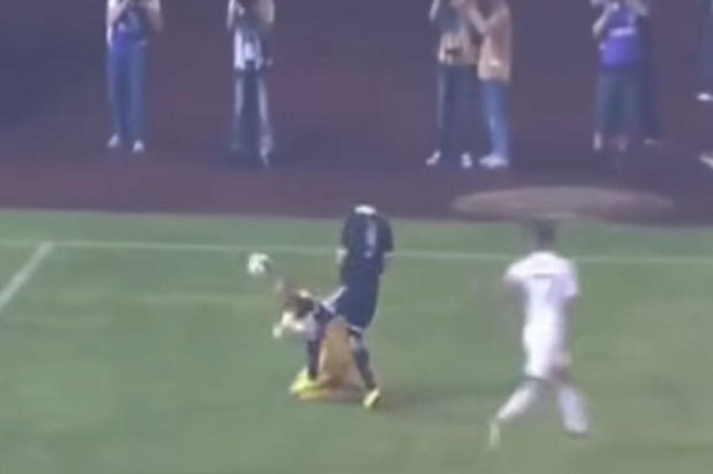 (VIDEO) PROCENITE SAMI: Da li je Partizan oštećen za penal protiv Čukaričkog?