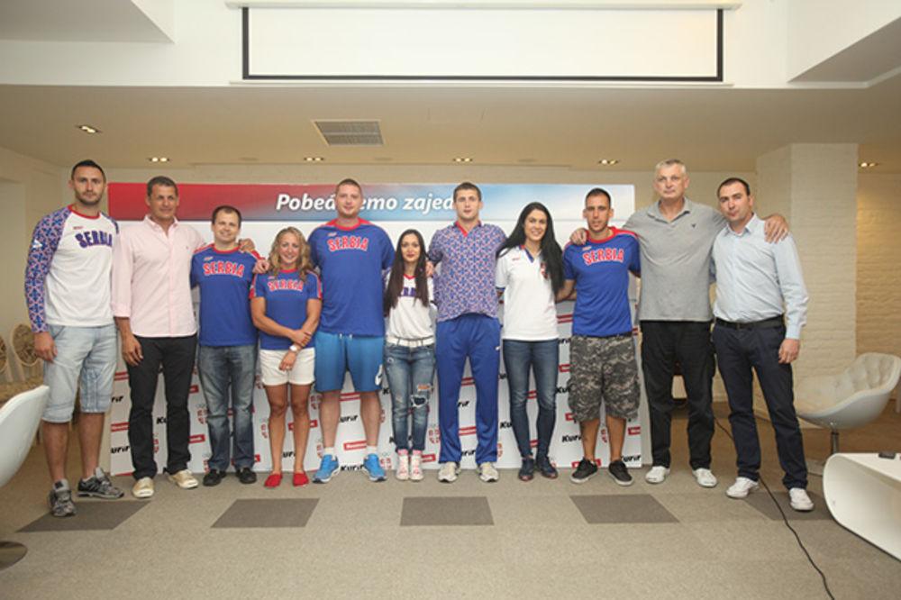 """(FOTO, VIDEO) U SUSRET BAKUU: Sportisti i novinari posetili """"Adria Media Grupu"""""""
